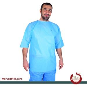 فروش پیراهن پزشک آستین کوتاه